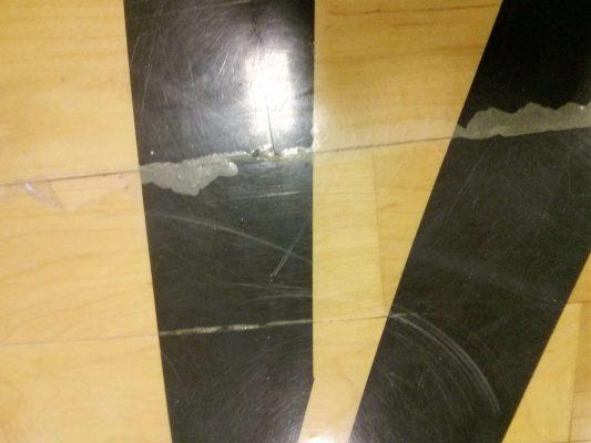 College Gym Wood Floor needs Scrub n Shine services